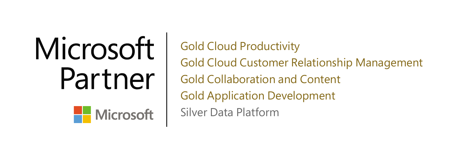 Gold Partner in CRM and SharePoint